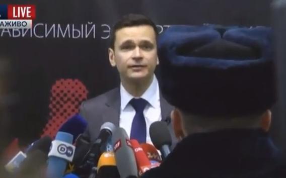 Російські поліцаї спробували зірвати доповідь Яшина про режим Кадирова - фото 1