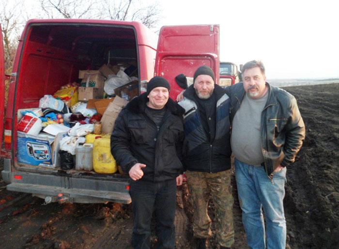 Немирівські волонтери відправили допомогу в зону АТО - фото 1