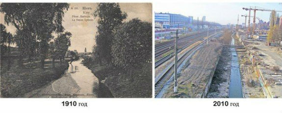 Кияни нагадали, як за 100 років річка Либідь перетворилася на помийну яму  - фото 1