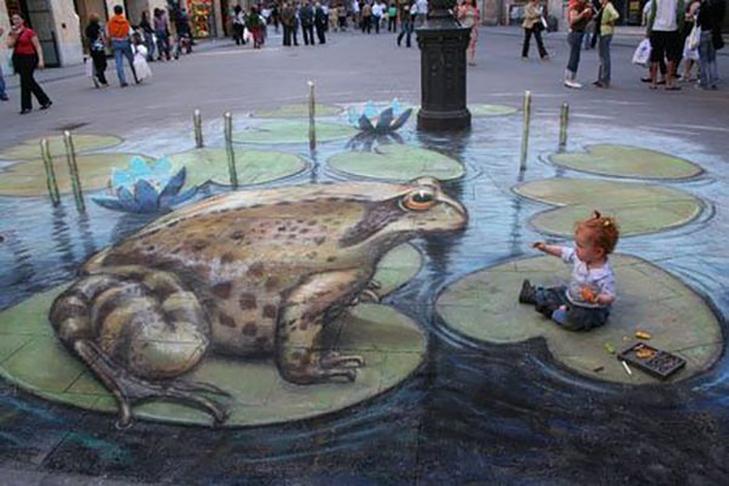 40 неймовірних 3D малюнків на асфальті - фото 17