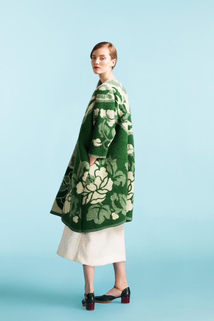 Нова мода - пальто з радянських ковдр - фото 5