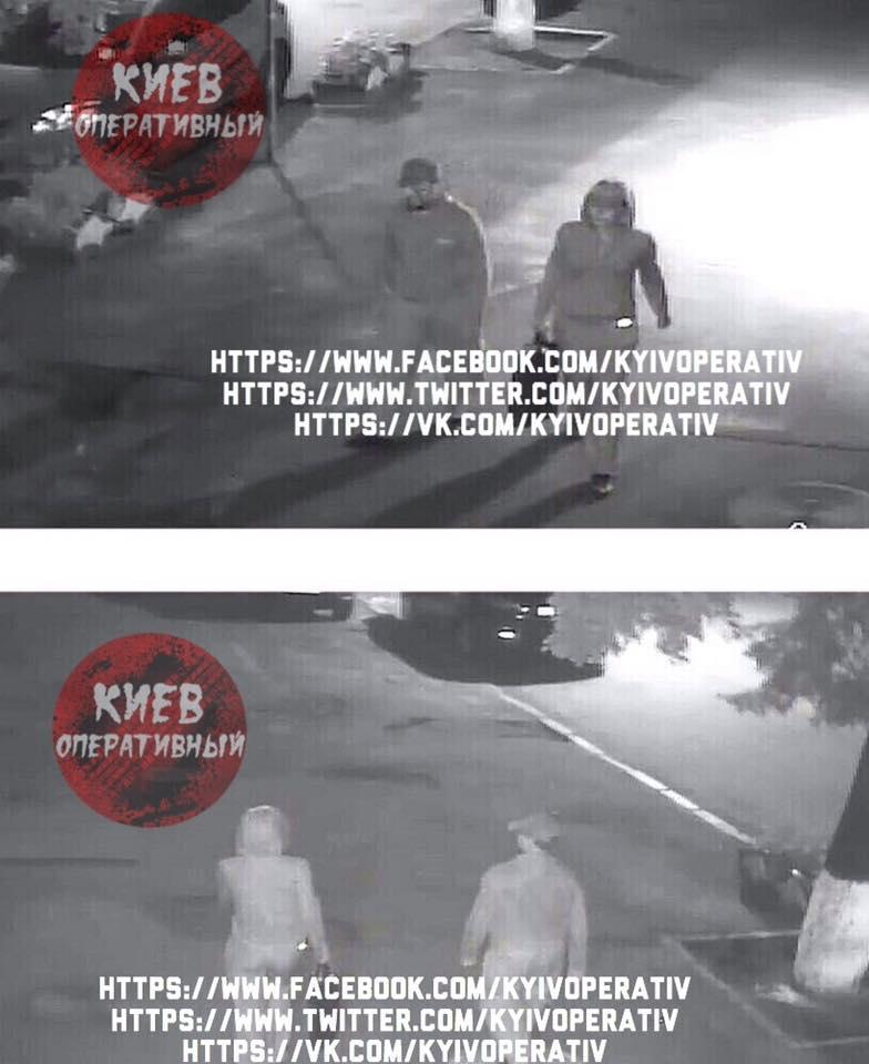 Оприлюднені фото вбивць журналіста Шеремета  - фото 1