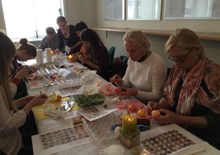 У Нідерландах дали майстер-клас зі створення українських писанок - фото 2