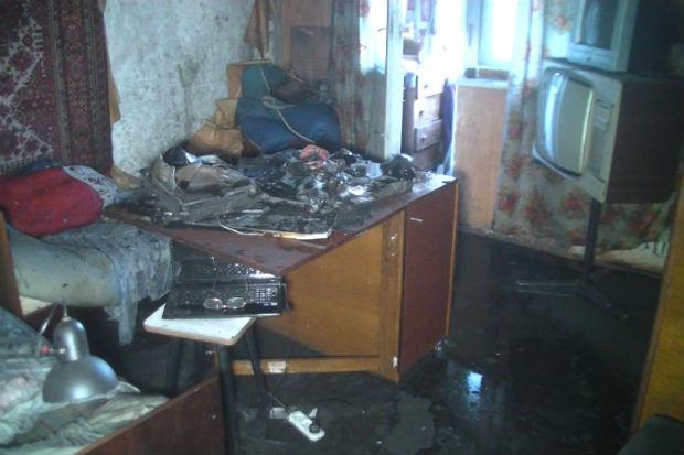 У Київському районі Харкова горіла багатоповерхівка: евакуювали 15 людей - фото 1