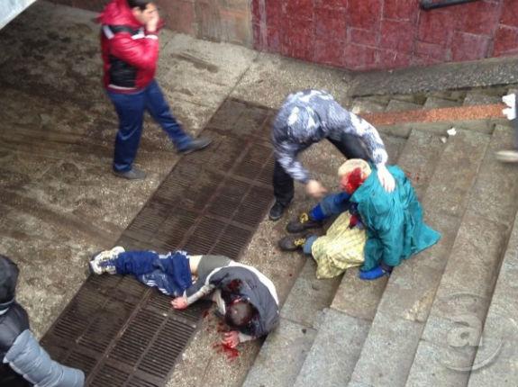 Харківська медсестра, що добивала ногами євромайданівця, звільнена по амністії - фото 1