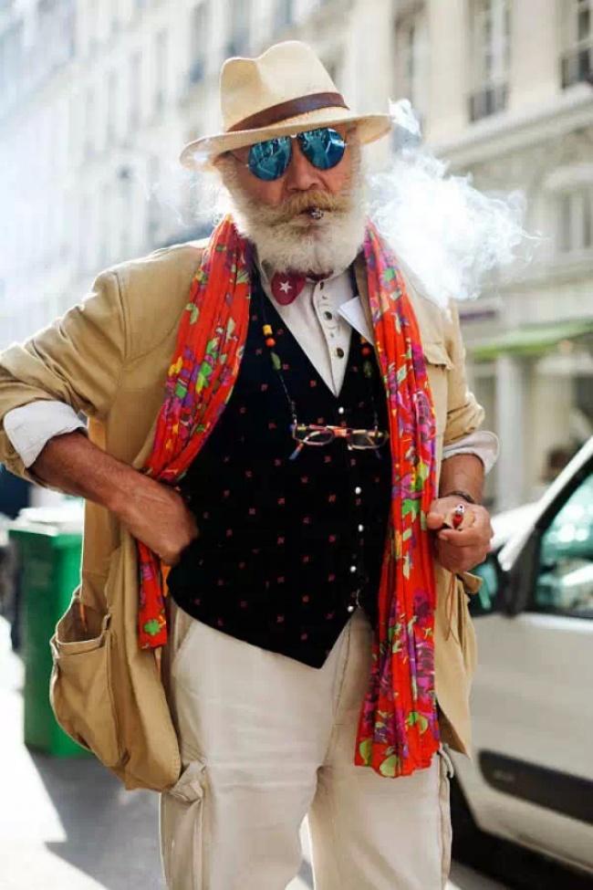 Сивий гламур: ТОП-7 стильних образів для дідусів - фото 3
