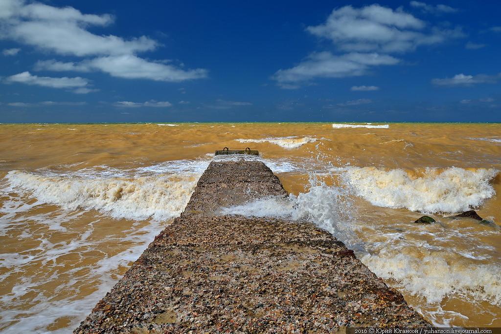 Як у Криму Чорне море стало жовтим - фото 3
