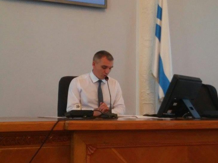 У Миколаєві депутати хочуть проводити сесію міськради у замінованому залі - фото 1