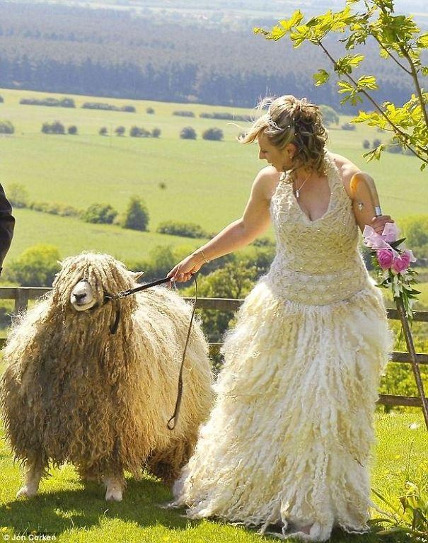 ТОП-10 найдивніших весільних суконь - фото 10