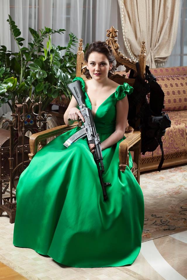 Фотосесія українських жінок-воїнів підірвала інтернет  - фото 12