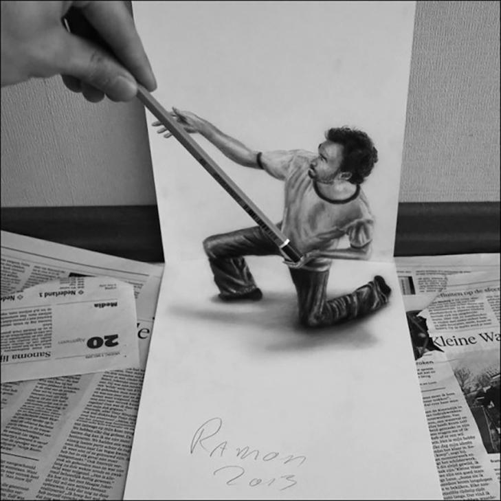 35 неймовірних 3D-малюнків олівцем - фото 19