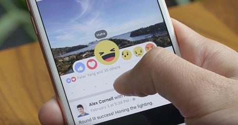 """""""Фейсбук"""" ввів п'ять альтернатив кнопці """"лайк"""" - фото 1"""