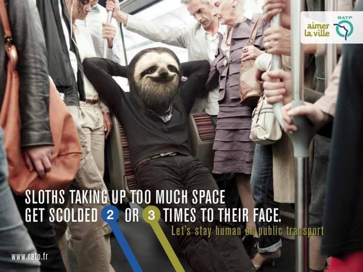 """Як парижан закликатимуть бути """"хомо сапієнс"""" в громадському транспорті - фото 7"""