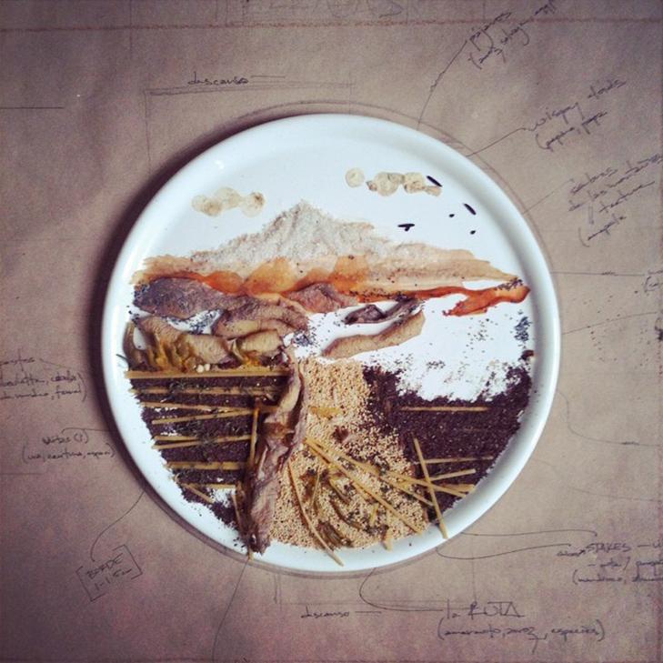 Витвори мистецтва від дівчини, яка любить грати з їжею - фото 10