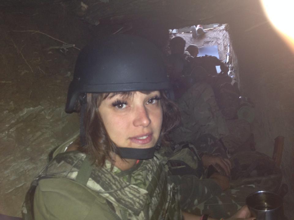 Краса рятує Україну: ТОП-10 красунь-бійців АТО - фото 14