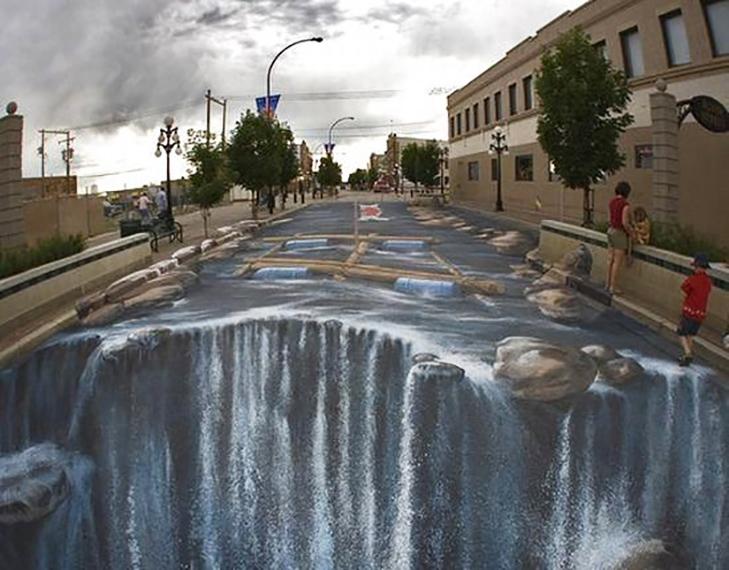 40 неймовірних 3D малюнків на асфальті - фото 34