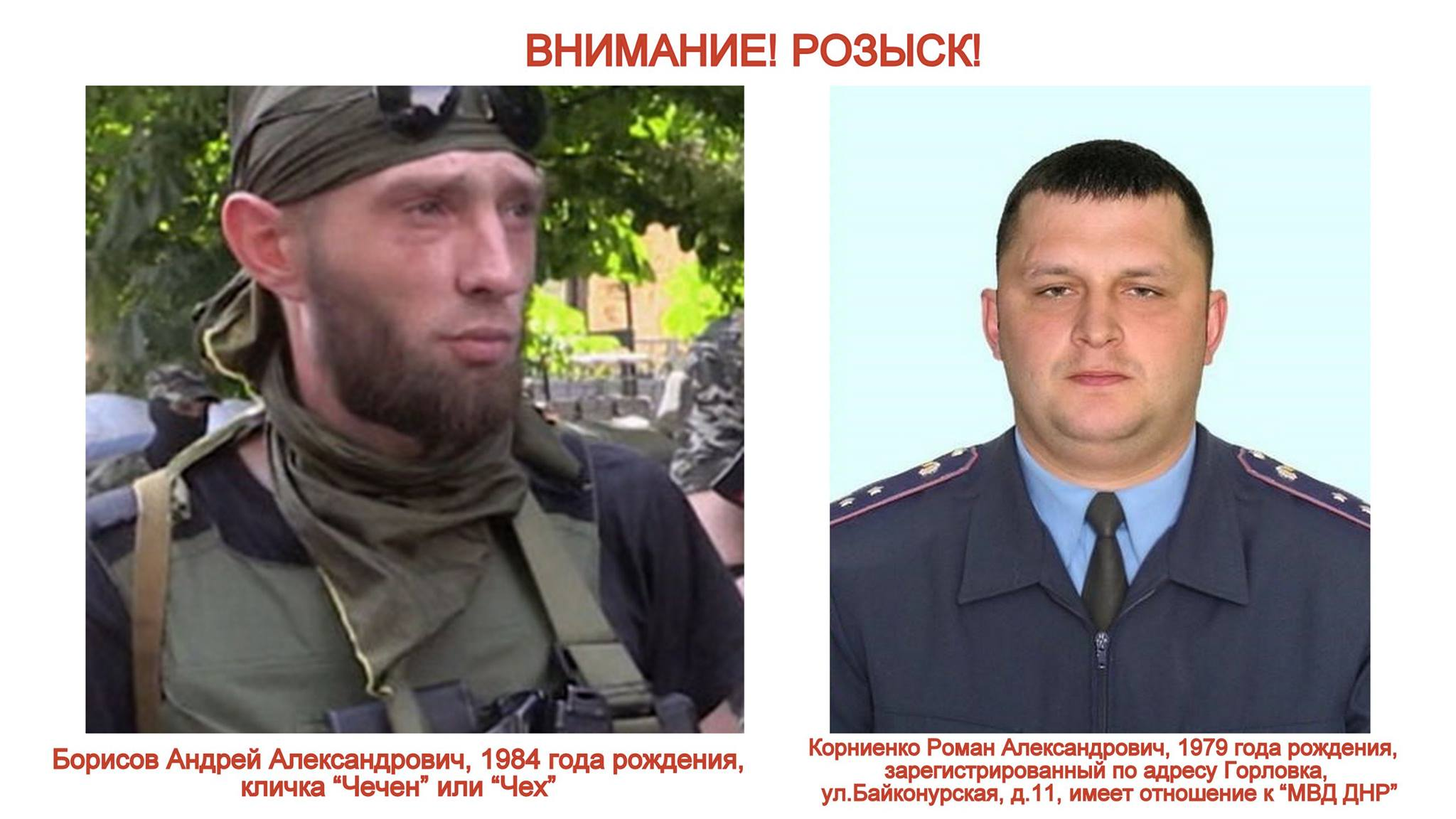 """Інтерпол допоможе шукати двох бойовиків """"ДНР"""", - Аброськін - фото 1"""