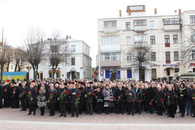 Вінничани вшанували пам'ять Героїв Небесної Сотні  - фото 3