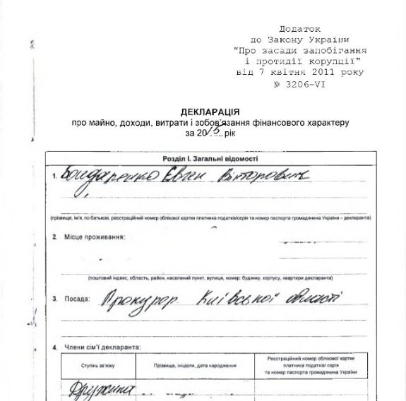 Українцям так не жити: прокурор Київської області орендує квартиру за 79 гривень на рік  - фото 1