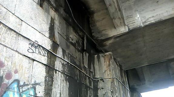 """Як виглядають """"нутрощі"""" мосту Метро у Києві - фото 4"""