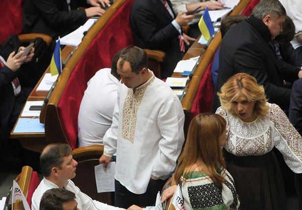Як депутати святкували День вишиванки (ФОТО) - фото 32