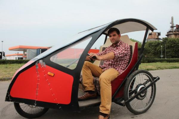 Як український винахідник створив економний електрокар з велосипеда - фото 1