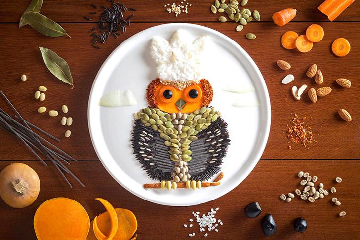 Витвори мистецтва від дівчини, яка любить грати з їжею - фото 8