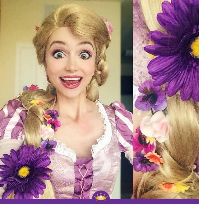 Як дівчина з величезними очима перетворюється на принцес Діснея - фото 4