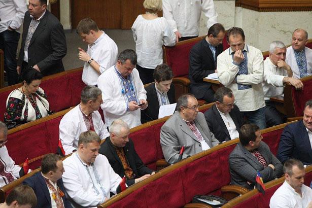Як депутати святкували День вишиванки (ФОТО) - фото 26