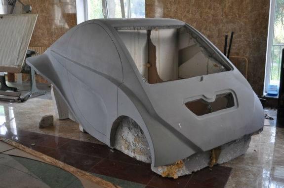 Киянин виробляє власні автівки по 18 тис грн (ФОТО) - фото 1