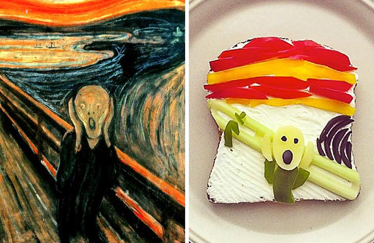 15 великих картин, які намалювали на бутербродах і з'їли - фото 11