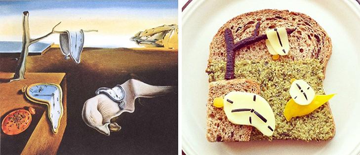 15 великих картин, які намалювали на бутербродах і з'їли - фото 6
