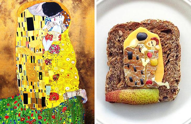 15 великих картин, які намалювали на бутербродах і з'їли - фото 2