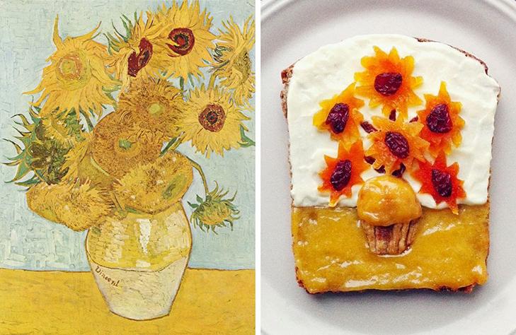 15 великих картин, які намалювали на бутербродах і з'їли - фото 10