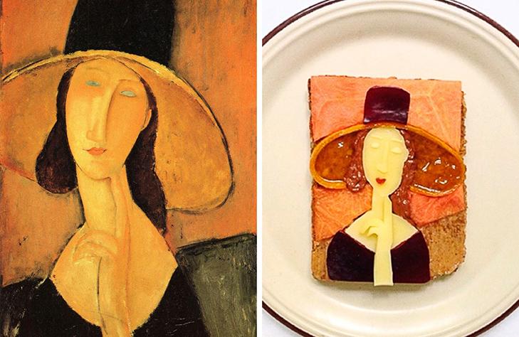 15 великих картин, які намалювали на бутербродах і з'їли - фото 15