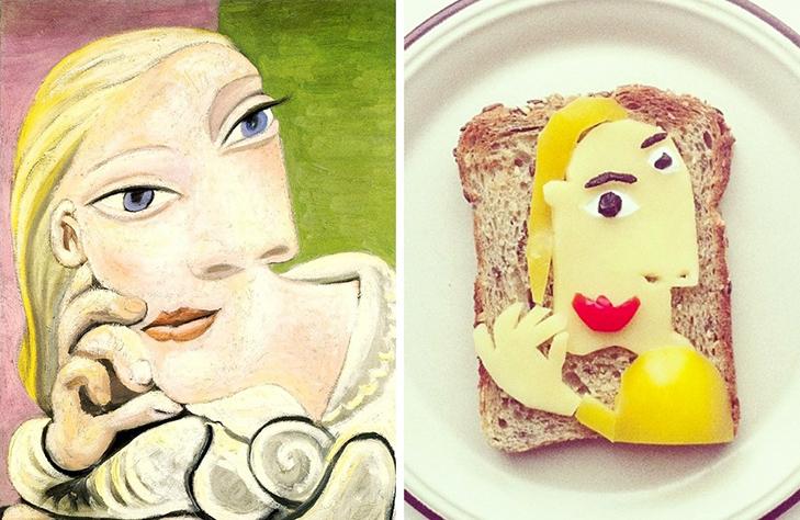 15 великих картин, які намалювали на бутербродах і з'їли - фото 13