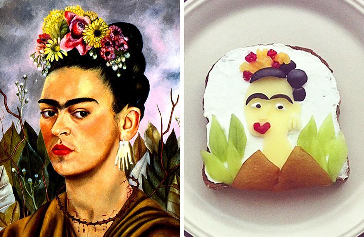 15 великих картин, які намалювали на бутербродах і з'їли - фото 5