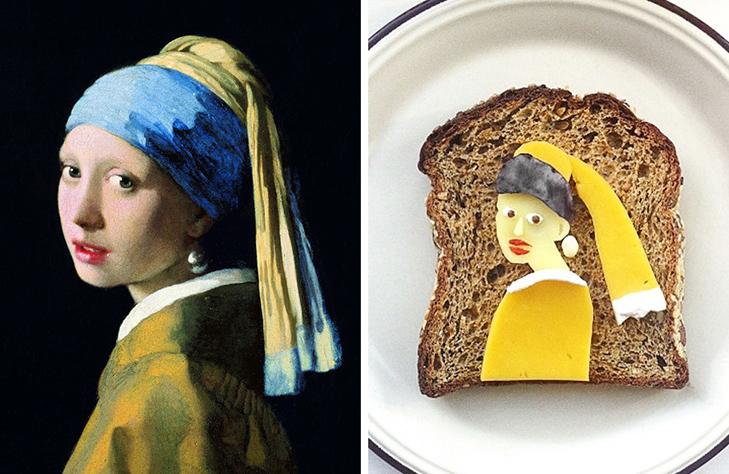 15 великих картин, які намалювали на бутербродах і з'їли - фото 3