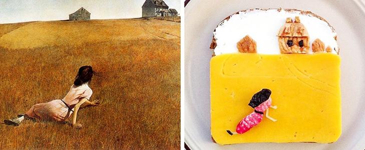 15 великих картин, які намалювали на бутербродах і з'їли - фото 8