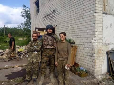 """Справжні солдати. Андрій Козицький: Іра """"Лютик"""" хотіла бути снайпером, ми її потроху вчили - фото 1"""