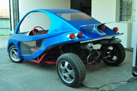Киянин виробляє власні автівки по 18 тис грн (ФОТО) - фото 3