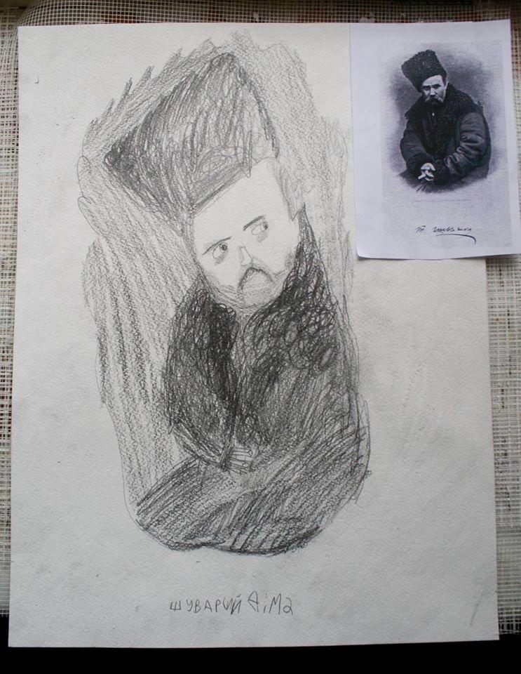 Шевченко очима дітей: як малеча кумедно малює Кобзаря  - фото 8
