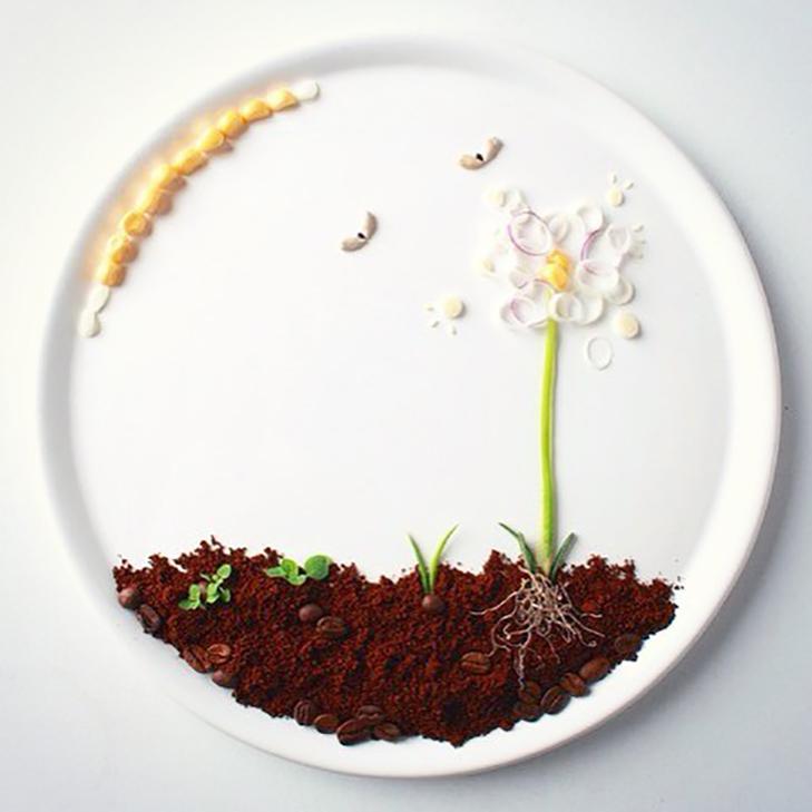 Витвори мистецтва від дівчини, яка любить грати з їжею - фото 3