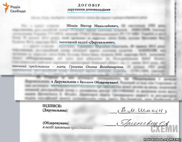 """Журналісти """"знайшли"""" у Шокіна дружину, дитину і їх маєтки - фото 11"""