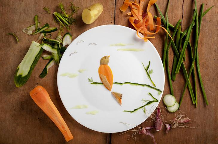 Витвори мистецтва від дівчини, яка любить грати з їжею - фото 6