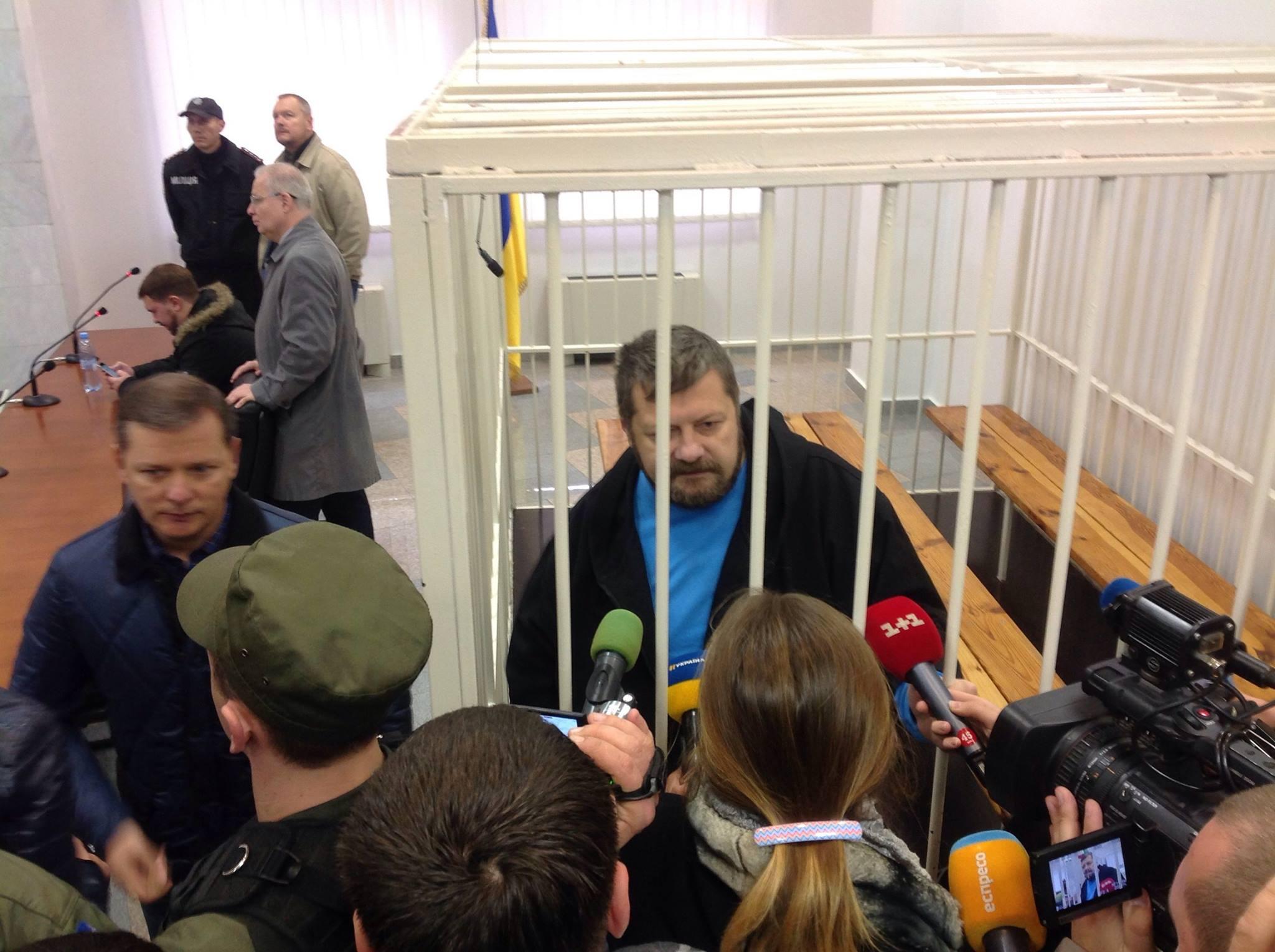 Мосійчук знову погрожує голодуванням, якщо його запруть у СІЗО - фото 1