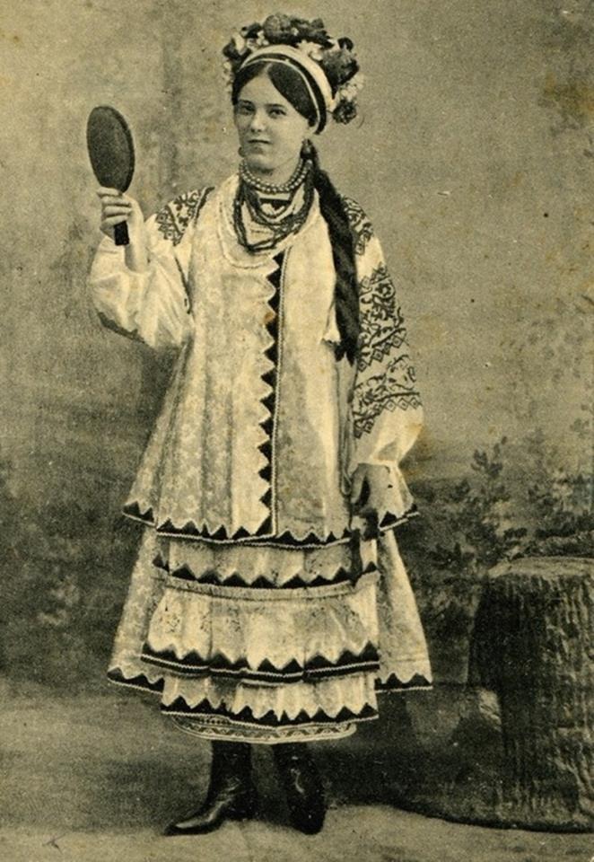 Як одягалися українські модниці 100 років тому - фото 15