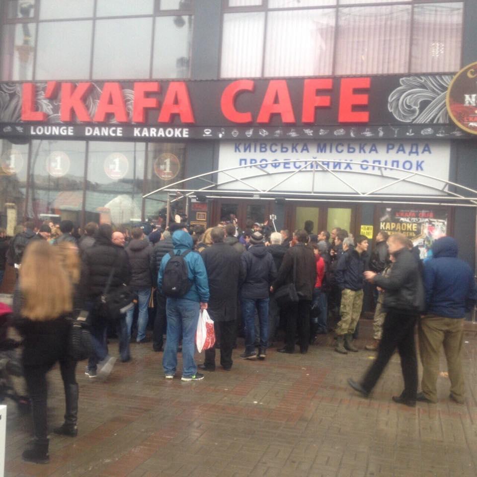 Як нардепи штурмували кафе в Будинку профспілок  - фото 2