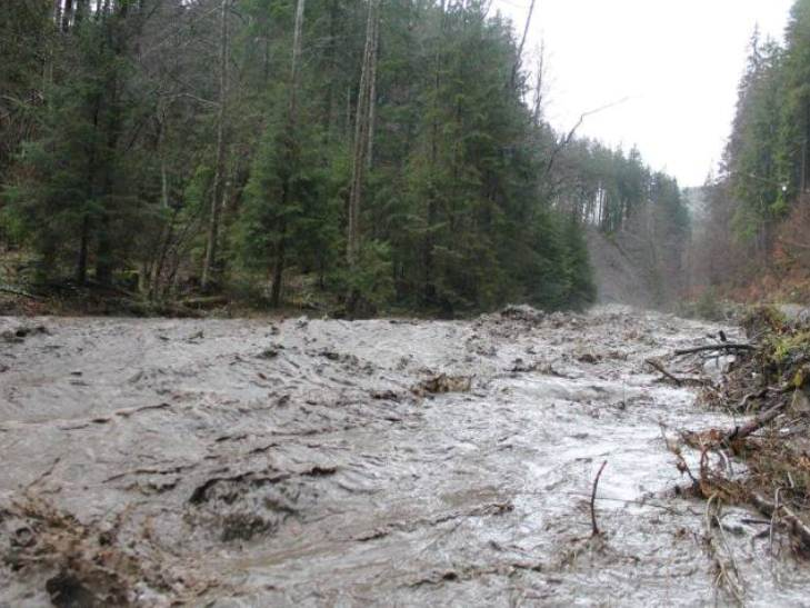На Закарпатті селеві потоки зруйнували дорогу на Драгобрат - фото 4
