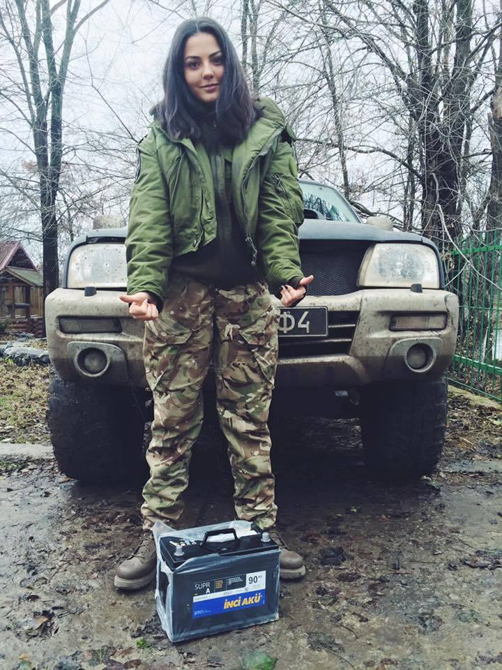 Краса рятує Україну: ТОП-10 красунь-бійців АТО - фото 10